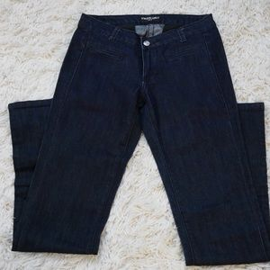 Straight Leg Jeans. Size 3